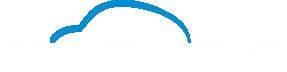 Logo Motobis - biały napis MOTOBIS